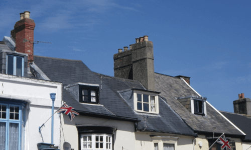 Roof Defects, Budleigh Salterton