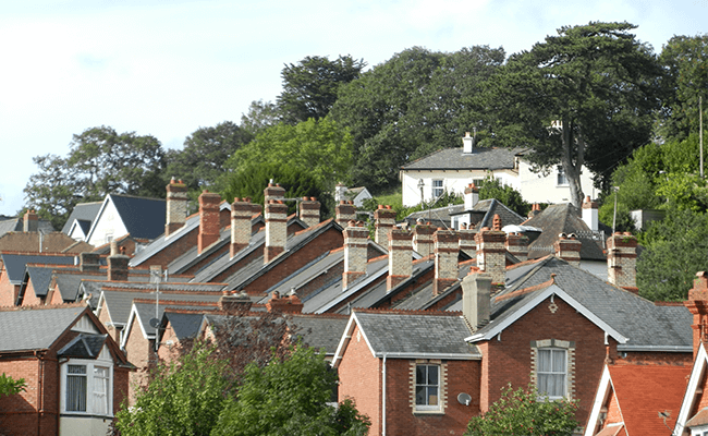Residential Buildings near Budleigh Salterton
